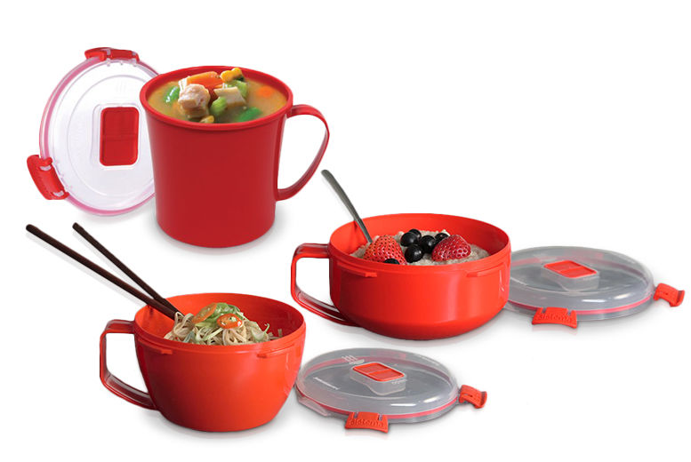 Sistema Locking Food Containers – 3 Designs! from £2.99