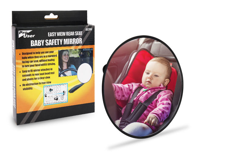 Easy-View Rear Seat Baby Mirror for £5.99