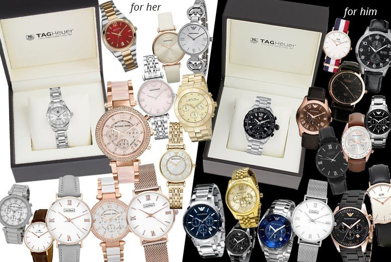 Luxury Mystery Watch Deal – Tag Heuer, MK, Armani, L. Henry & More! for £20