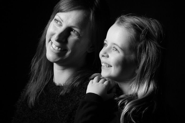 Mother & Daughter Photoshoot