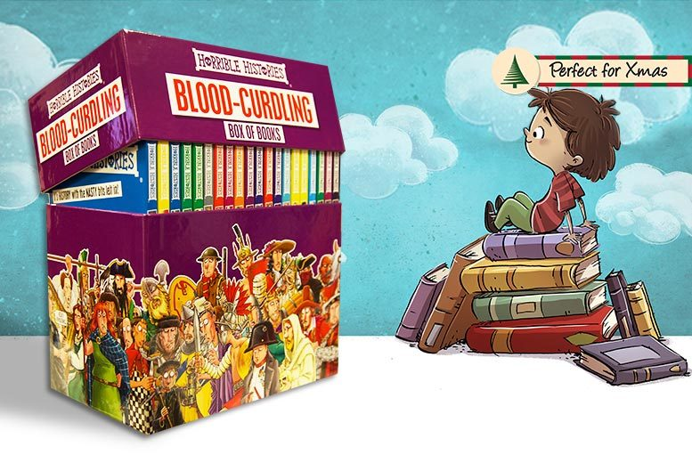 20-Book Horrible Histories Box Set for £24