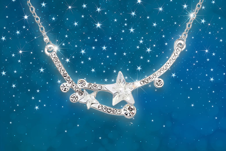 Shooting Star Necklace – 2 Colours! for £7
