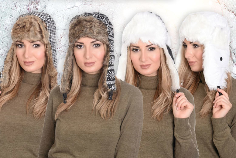 Side Flap Winter Hat – 2 Styles! for £4.99