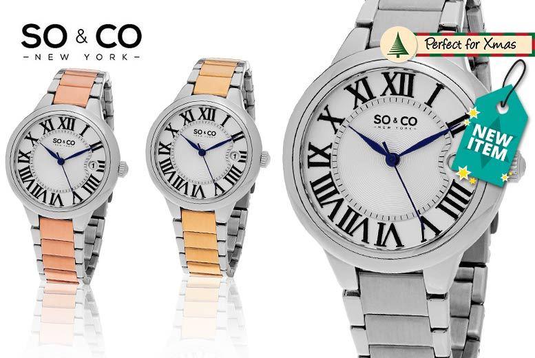 So&Co New York Madison Watch