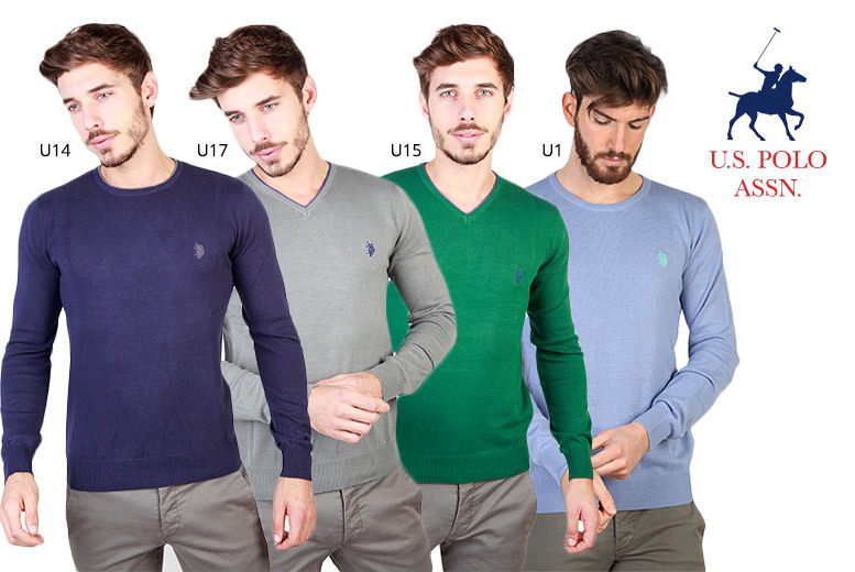 U.S Polo Mens Sweater – 17 Styles & 5 Sizes! for £29