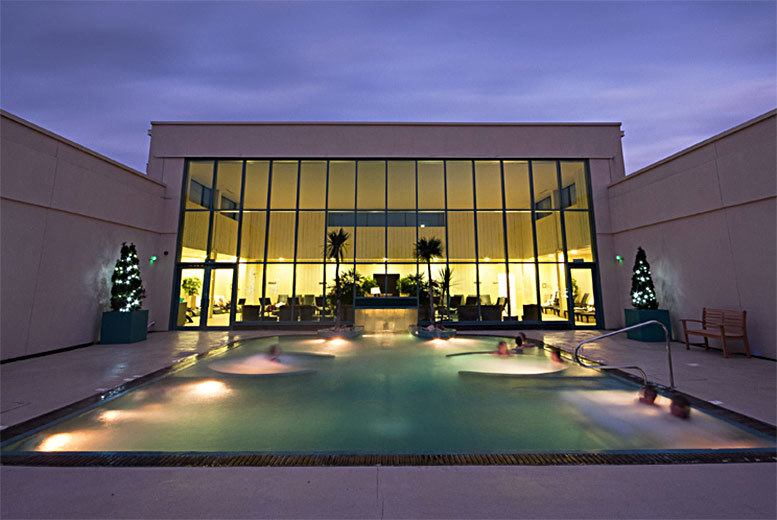 Twilight Spa Experience with Treatment and Dinner @ The Malvern