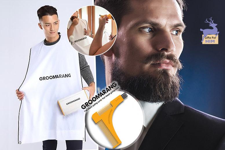Groomarang Beard Comb & Catcher for £9.99