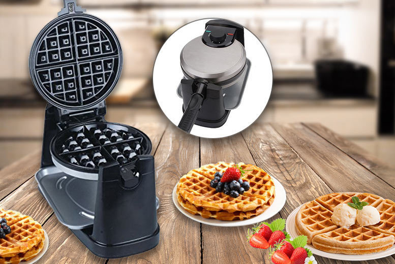Professional 180-Degree Belgian Waffle Maker for £19.99