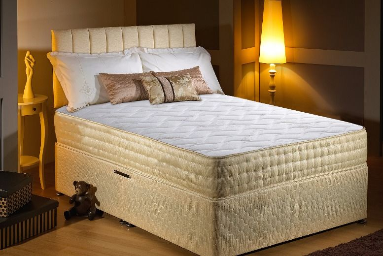 Gold-Threaded Bio-Natural Memory Foam Mattress