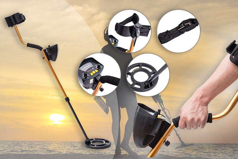Waterproof Deep Target Metal Detector for £79