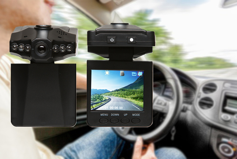 2.5″ In-Car HD Accident Camera for £12