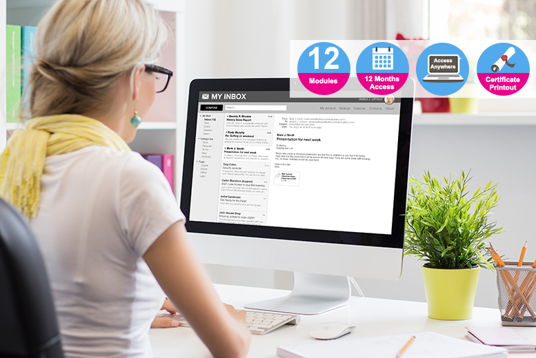 Core Office Skills Bundle – 3 Online Courses! for £29