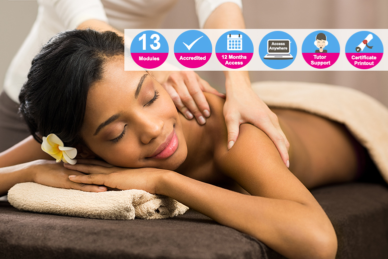 Accredited Massage Therapist Course for £16