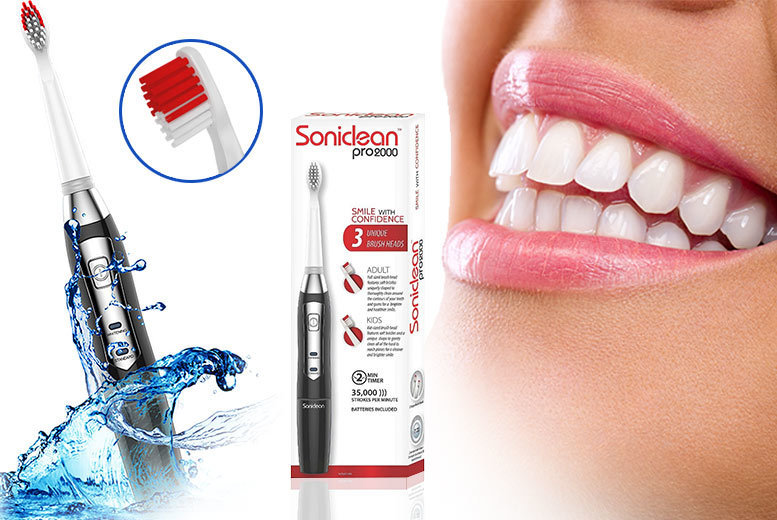 Soniclean Pro 2000 Toothbrush for £12