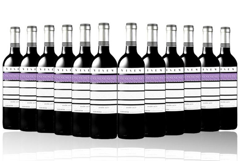 Vinema Joven, Cariñena Red Wine – 12 Bottles for £49.99