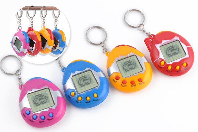 2 Retro Virtual Pets – 4 Colours! for £4.99