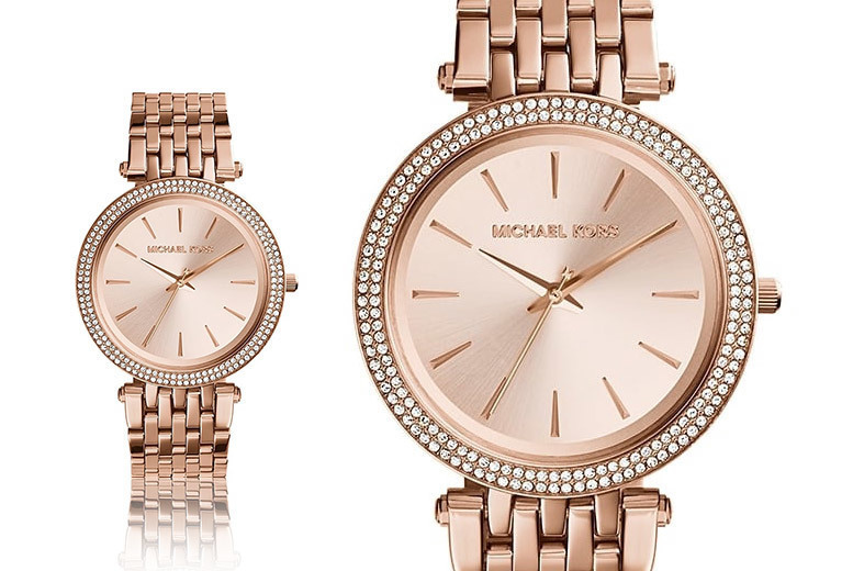 Michael Kors Women's Darci Rose Gold Watch for £109
