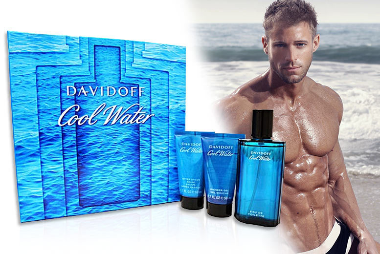 Davidoff Cool Water EDT Men's Gift Set for £24