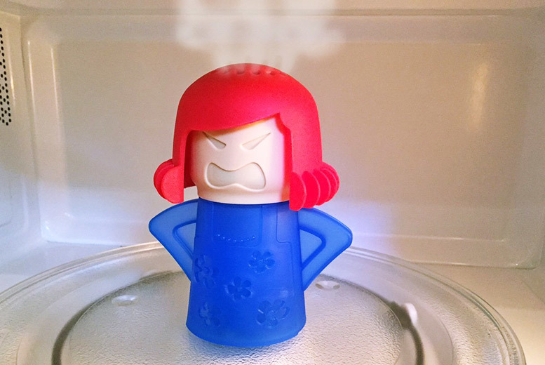 Angry Lady Microwave Cleaner for £3.99