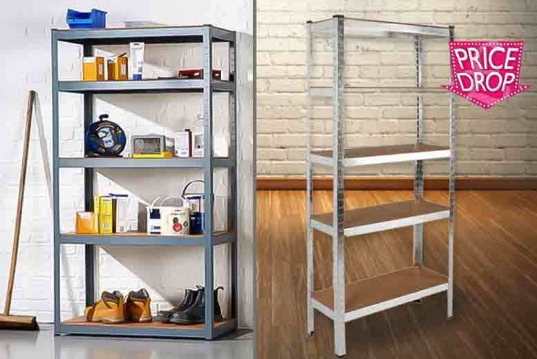 5-Tier Heavy Duty Racking Unit for £16