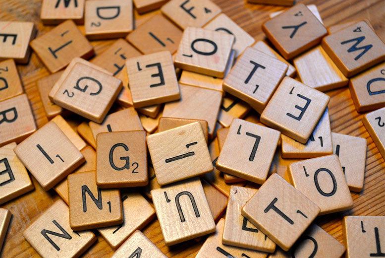 Wooden Letter Arts & Crafts Tiles for £3.99