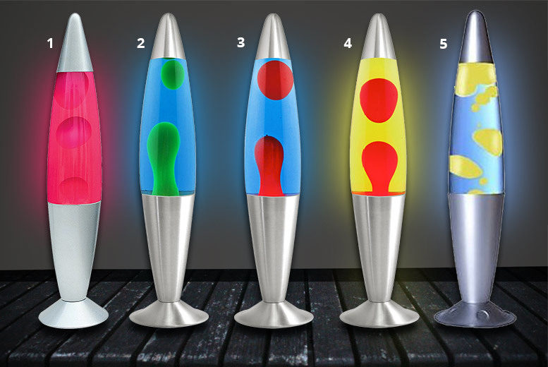 Peaceful Motion Lava Lamp – 8 Colours! for £9.99