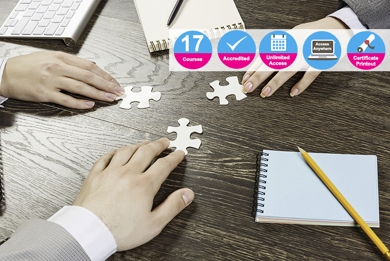 Accredited Team Building & Management Bundle – 17 Courses! from £16