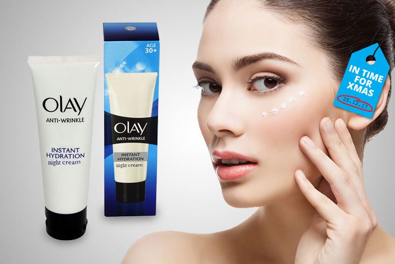 Olay Anti-Wrinkle Night Cream for £2.99