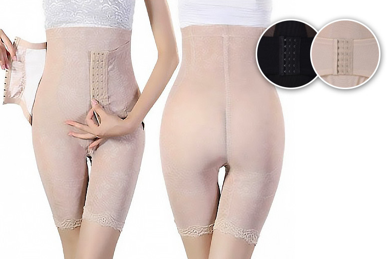 Leg-Shaping Corset Control Pants – UK 8-16 & 2 Colours! for £9
