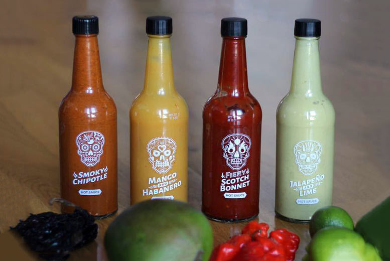 The Best Deal Guide - The Bonnie Sauce Co. Hot Sauce Hamper - 4 Flavours!