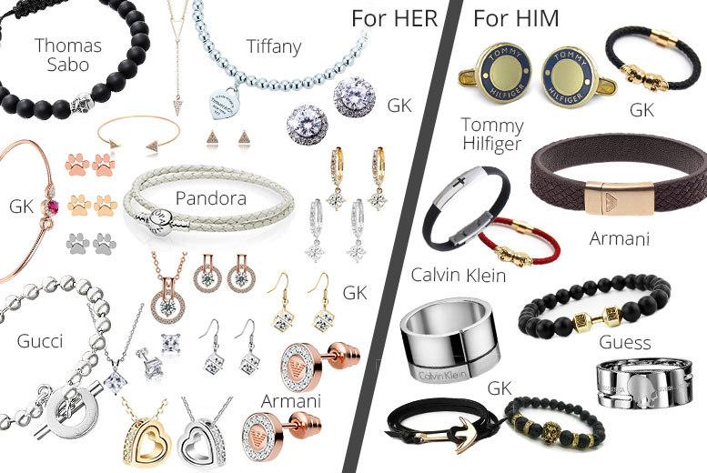 Mystery Jewellery Deal - Gucci, Tiffany, Armani, Swarovski & More!