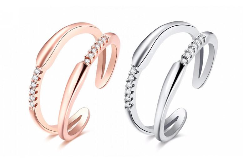 Christina Elegance Ring- 2 Colours!