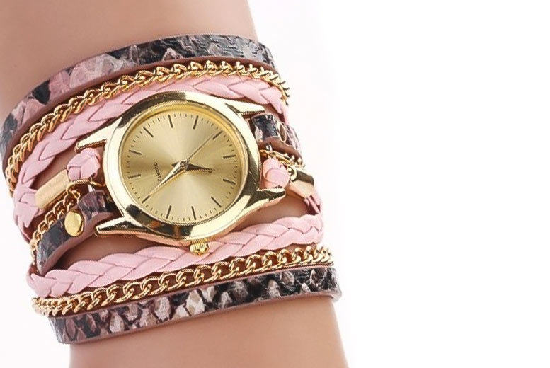 Ladies' Zoe Wrap Watch - 6 Colours!