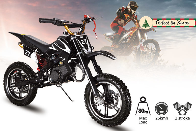 49cc Mini Petrol Dirt Bike – 2 Styles! from £159