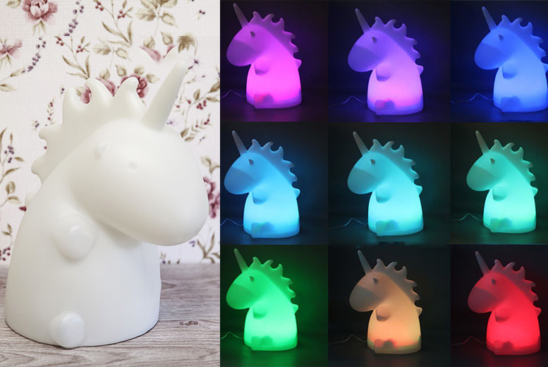 Unicorn LED Night Light for £6.99