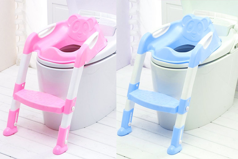 2-in-1 Kids Toilet Training Seat & Step Ladder for £14