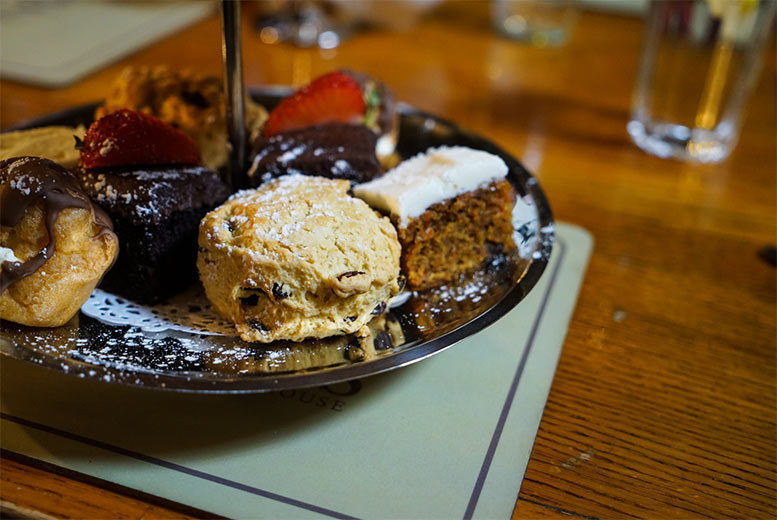 Afternoon Tea and 'Bottomless' Prosecco for 2 or 4, Huddersfield
