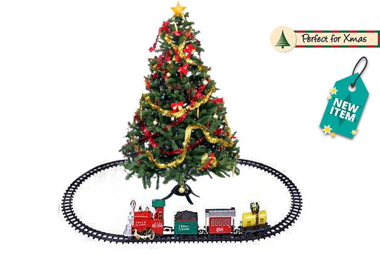 Xmas 'Holiday Express' Train Set – 2 Sizes! from £14.99