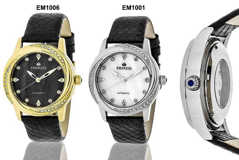 Women's Luxury Automatic Empress 'Ayala' Watch - 4 Designs!
