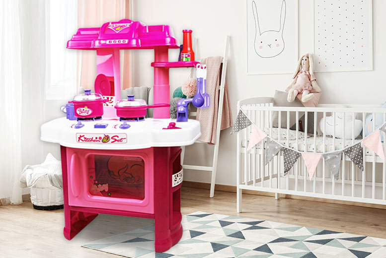 Pink Electronic Kitchen Playset for £16.99