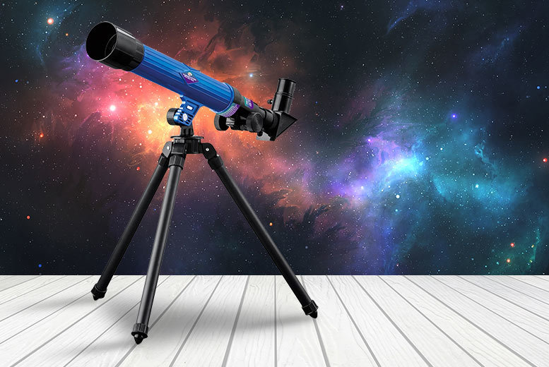 Kids' Telescope with Tripod – Up To 40x Magnification! for £9.99