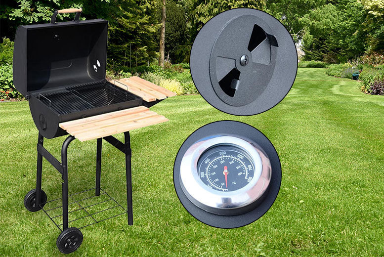 Heavy Duty Outdoor BBQ Grill – 2 styles! from £59