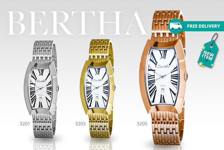 Bertha Watches 'Laura' Collection - 6 Designs!