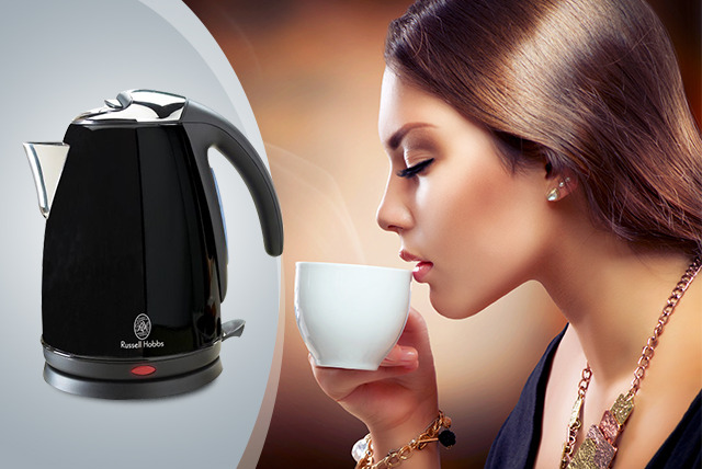 £19.99 instead of £26.01 (from UP Global Sourcing) for a Russell Hobbs 13775 Black SS Kettle - save a scorching 23%