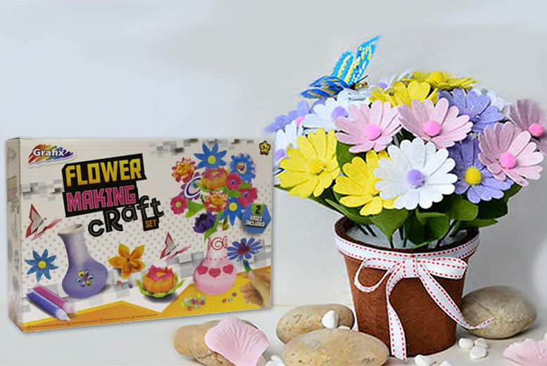 Flower Making Craft Kit for £4.99