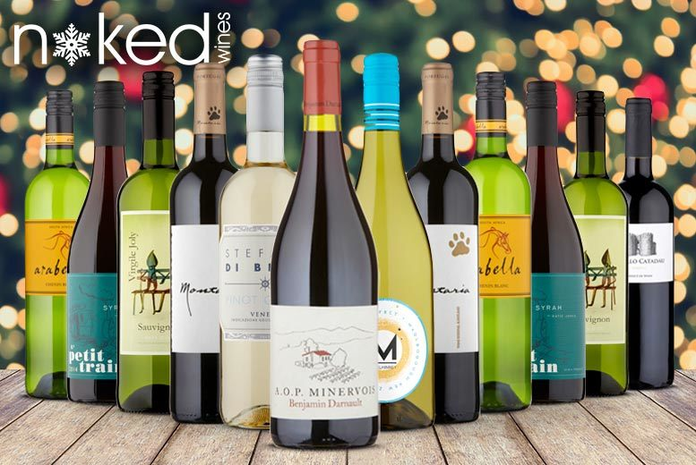 Christmas Naked Wines Early Bird Mixed Case – 6 or 12 Bottles! from £24
