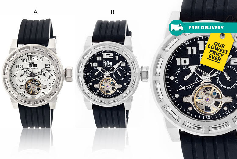 Men's Reign Rothschild Automatic Watch - 7 Designs & Delivery Included!