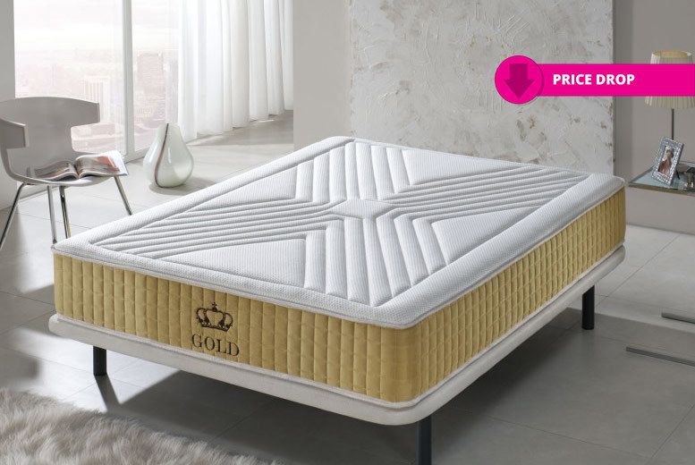 Luxury Gold-Threaded 11-Zone Memory Mattress