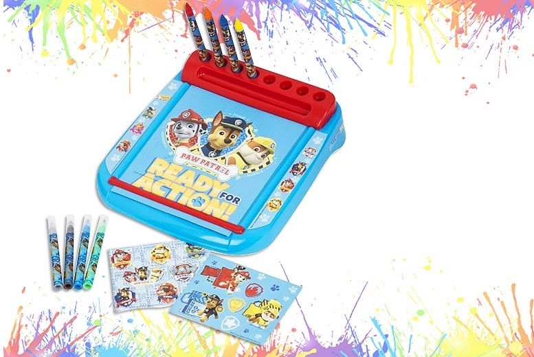 A 'Paw Patrol' Art Set with Stickers and 6m Colouring Sheet for £8