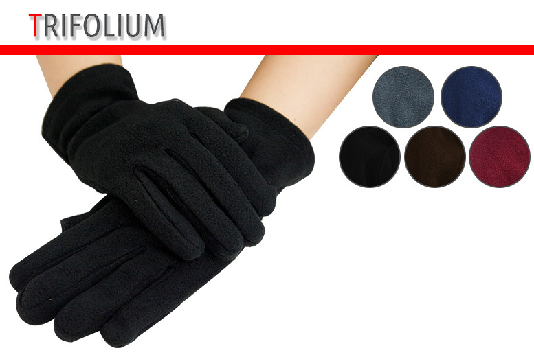 Ladies' Thermal Gloves – 5 Colours! for £2.99